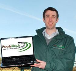 Paradering.ie Founder Padraig O Sullivan